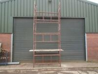 steel scaffold tower