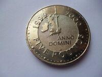 1999-2000 £5 coin