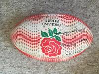 Signed rugby ball by Jason Robinson
