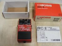 Boss RC2 loop station- moded