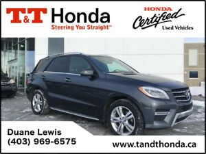 2013 Mercedes-Benz M-Class ML350*No Accident, Leather, Sunroof,
