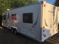 Bailey Caravan Pageant Loire (2008) 6 Berth With Bunk Beds, Like Hobby, Tabbert And Fendt