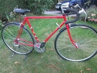 Vintage Claud Butler Bike , fully refurbished 12 speed.