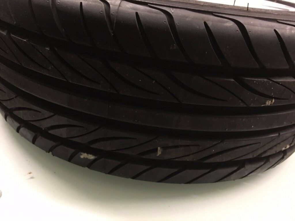 YOKOHAMA TYRE WITH ALLOY WHEEL NEARLY NEW SIZE 195/45 R16 only £35