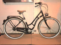 Bergamont Sommerville N3 upgraded with Sturmey Archer 8 speed - 19 inch frame. Dynamo lights