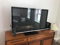 Tv Panasonic Viera smart Tv+Sky box
