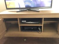 Long tv unit and side table with drawer