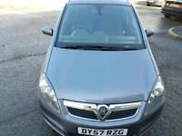 1 lady owner Vauxhall zafira design 7 seater .