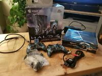 Limited edition halo 4 XBox games console
