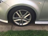 "Seat Leon Mk2 17"" FR Alloy Wheels 5x112 VW Audi Skoda VAG"