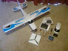 Remote Control Plane,Trainer Aircraft and Transmitter with extras Kilmore Mitchell Area Preview