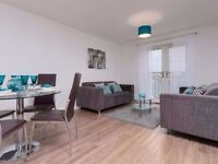 Stunning newly built 2 bed flat - part dss accepted if working!