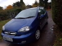 £425 large 4 door saloon DAEWOO TACUMA 1600