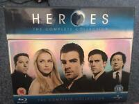 Heroes Bluray complete box set