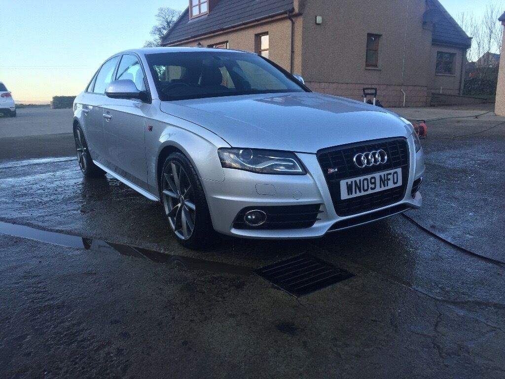 audi a4 b8 s4 quattro black edition manual 2009 may px swap cash in fyvie aberdeenshire. Black Bedroom Furniture Sets. Home Design Ideas
