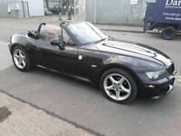 Bmw Z3 2.2i, 2002, black, convertible roadster, very good runner