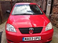 Toyota Corolla Hatchback MK 9 1.4 VVT-i T2 3dr Quick sale! Very cheap! Low mileage!