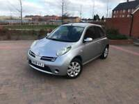 2008/08 NISSAN MICRA 1.2 3 DOORS 1 F KEEPER VERY NICE CAR AT A CHEAP PRICE!!!