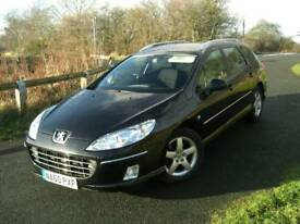 Peugeot 407 2.0hdi SW(estate) 2010 60plate