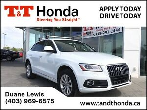 2016 Audi Q5 2.0T Progressiv *No Accidents, Leather, NAVI