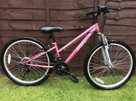 Girls Apollo mountain bike, excellent condition