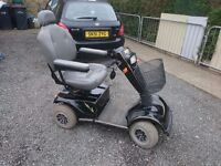 Mobility scooter heavy duty