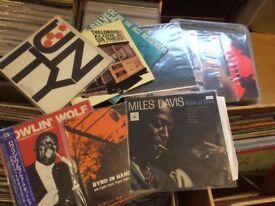 Over 600 premium jazz records
