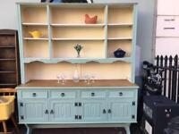 Gorgeous Vintage Jaycee Welsh Dresser Sideboard Cupboard Cabinet Shabby Chic