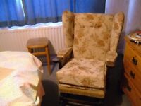 upholstered rocking chair FREE