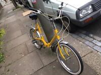 Puch fold up bike