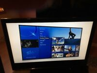"Baird 47"" tv with remote full Hd"