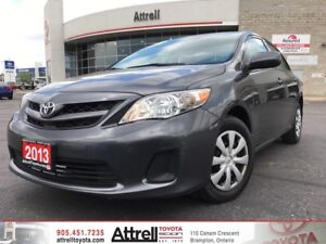 2013 Toyota Corolla CE C Package. Keyless Entry, Heated Seats, A