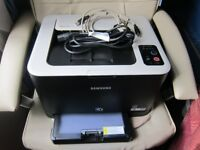 Samsung CLP-325W WiFi Colour Laser Printer with toners - calls only