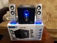 Vivanco amplifier speakers system