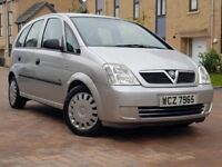 Vauxhall Meriva 1.6 i 16v Life Easy tronic 5dr Automatic (2004)*** MILEAGE ONLY 27000 warrented ****