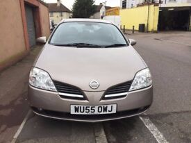 2005 NISSAN PRIMERA WITH HD SAT NAV, (AC) VERY LOW MILES, ONE OWNER...