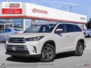 2017 Toyota Highlander Limited Toyota Certified, One Owner, N...