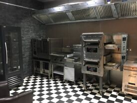 MIDDLEBY MARSHALL PS628E WOW CONVEYOR PIZZA OVENS (THREE PHASE)