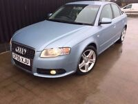 2005 Audi A4 2.0 TFSI S Line, 1 Previous Owner Big Spec, 3 Keys, Service History, Finance Available