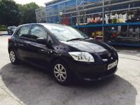 08 Toyota auris 1.4 d4d diesal fvsh cheap tax Insurance 58 mpg cheapest on net warranty availablepx