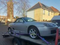 2005 MG TF spares or repairs