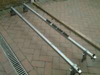 Heavy duty van roof bars
