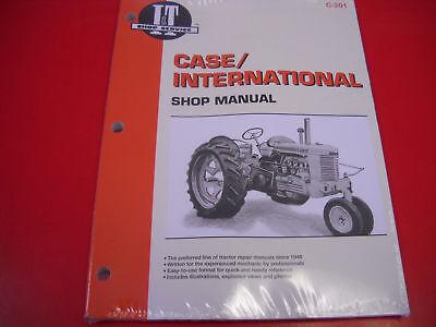 Case It Tractor Repair Shop Manual C D L R S Sc V Va Vac 200 300 400 500 C201