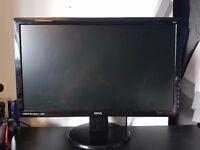 BenQ GL2450HM LED TN 24 inch Widescreen Multimedia Monitor (1920 x 1080, 2 ms GTG, VGA, DVI-D, HDMI)