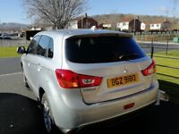 2016 Mitsubishi Asx ZE 1.6L petrol with Bluetooth and full service history.