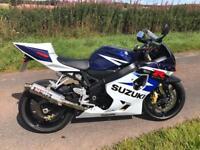 Suzuki Gsxr 750 K4 Only 3500 miles