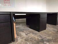 FREE 14 Office Desks (IKEA Malm)