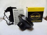 Nikon WC-E63 Wide angle Converter Lens for Nikon Coolpix
