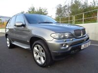 2005 BMW X5 AUTOMATIC DIESEL FACELIFT , SATNAV FULLY LOADED, 3 MONTHS WARRANTY