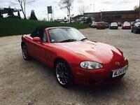 2004 Mazda Mx5 1.8 Euphonic Convertible Soft top